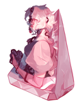 Pink Diamond | THORNS | Speedpaint by KitsuneZakuro