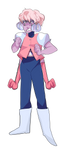 FUSION FRIDAY| PINK DIAMOND/HOLLYBLUE | SPEEDPAINT by KitsuneZakuro