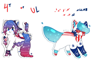 4th of July Jellycats Collab Auction CLOSED by raikukitti