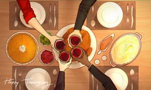 Thanksgiving Dinner by raikukitti