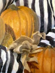 study: still life w. pumpkins by cloudsfall