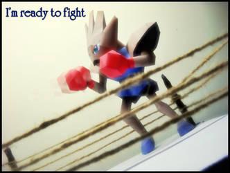 Hitmonchan - I'm ready to fight by Toshikun
