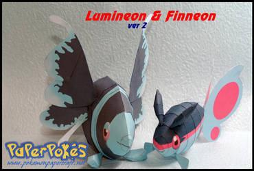 Finneon and Lumineon ver 2 by Toshikun