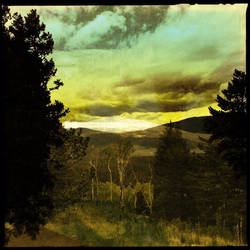 The Abstract Mountain by Kitishane