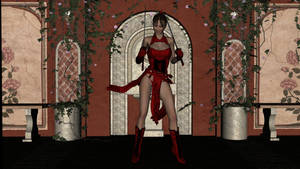 Scarlet Samurai by boggo2300