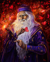Albus Dumbledore by Rami-fon-Verg