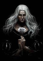 White Rose Lady by Rami-fon-Verg
