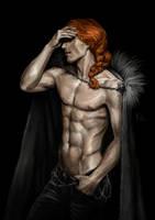 Sauron's facepalm by Rami-fon-Verg