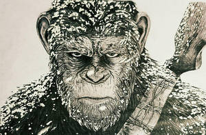 Caesar planet of apes by jmcfad21