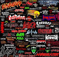 thrash metal by redalakchiri