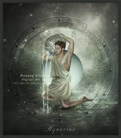 Zodiac Aquarius by ThelemaDreamsArt
