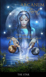 The Star - ARCANUM TAROT by ThelemaDreamsArt