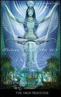 The High Priestess  MILLENNIUM THOT Tarot by ThelemaDreamsArt