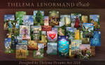 THELEMA LENORMAND Oracle deck by ThelemaDreamsArt