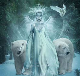 Winter Queen by ThelemaDreamsArt