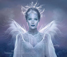 Ice Queen by ThelemaDreamsArt