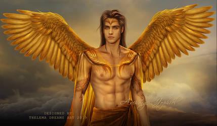 Archangel Jophiel by ThelemaDreamsArt