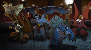 We are GARGOYLES by AlexDeB