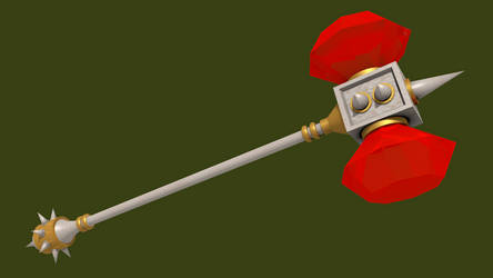 Spyro: DOL - Gnasty's Warhammer by IceFlame1019
