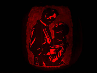 Max Payne 2 Pumpkin by ceemdee
