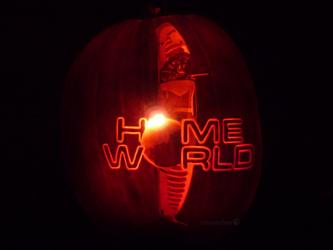 Homeworld Pumpkin by ceemdee