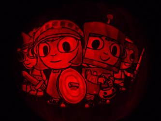 Costume Quest Pumpkin by ceemdee