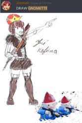 Gnomette concept by ZehKafeina