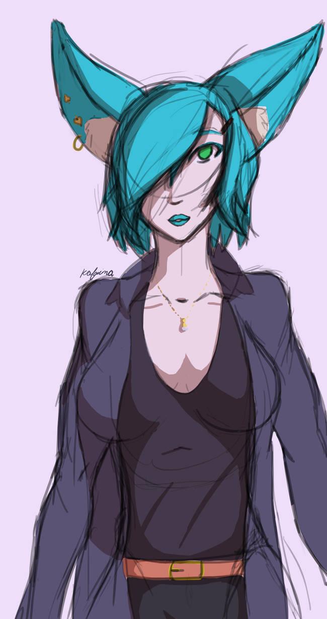 Alice Redesign Sketch by ZehKafeina