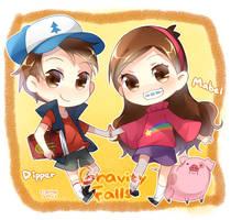 GravityFalls by trudyfish