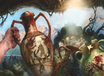 Magic the Gathering: Refreshing Elixir by CVDH by tegehel