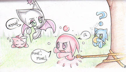A day in the Chao Garden by kawaii-kitsune