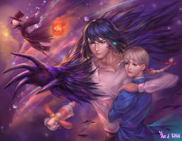 Howl And Sophie by EdenChang