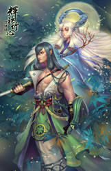 Onmyouji characters by EdenChang