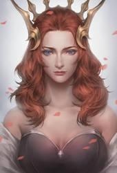 Queen's head by EdenChang