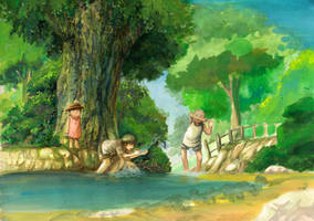 childhood by teritori