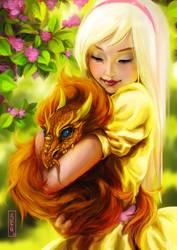 Sunny Dragon by Tsvetka
