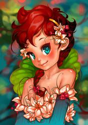 My Little Flower by Tsvetka