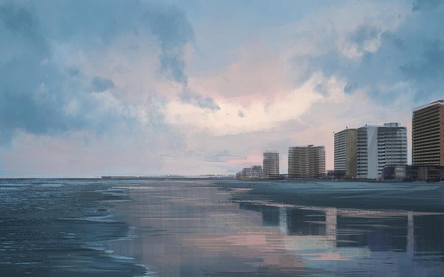 Beach by Tsvetka