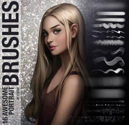 Portrait Brushes by Tsvetka