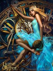 Clock tower goddess Tara_reg by Tsvetka
