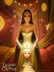 Cosmic storyteller Nimya_adv by Tsvetka