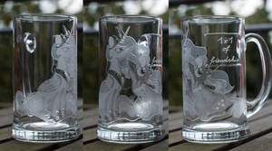 Nicole Oliver Galacon glass by rtry