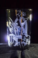 Chrysalis on smoked glass by rtry