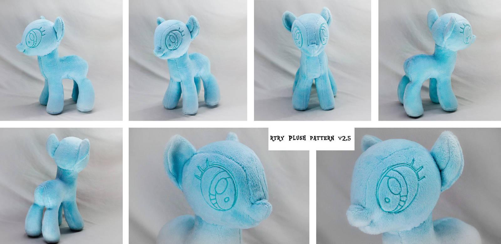 My Little Pony base pattern (v2.5) by rtry