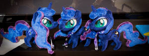 Chibi Luna Plushies by rtry