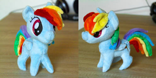 Chibi Rainbow Dash by rtry