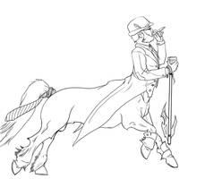 Gentleman Hecarim by Liabra