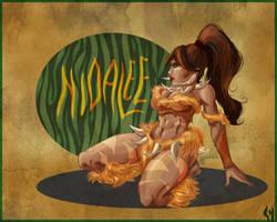 Nidalee is Like a Boss by Liabra