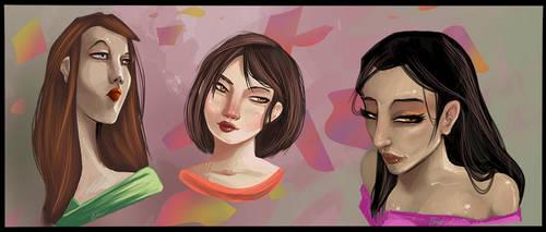 Three Heads Better Than Three...Heads... by Liabra