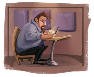 Caricaturedude by Liabra